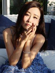 毛俊杰镂空长裙秀身材 小漏香肩诱惑迷人明星