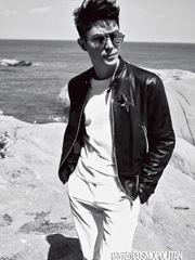 霍建華登時尚雜志封面 深情詮釋型男誘惑