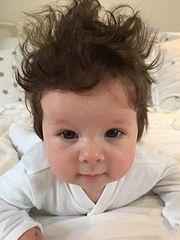 国外萌宝宝个性发型图片大全