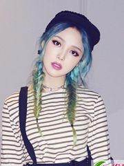 "Pony和Irene Kim都好色""韩国两大女神钟爱染发"