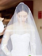 刘诗诗吴奇隆婚礼发型
