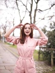 海陆清新写真曝光 粉色梦幻点燃少女心