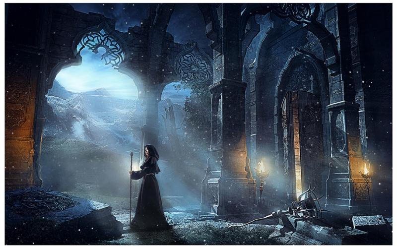 点击大图看下一张:黑暗女巫