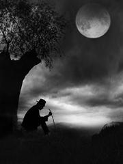 月光黑衣人
