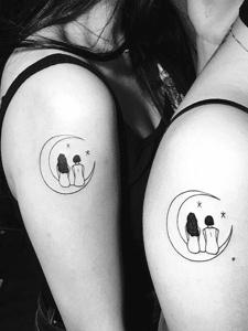 適合情侶和閨蜜的幾款紋身刺青