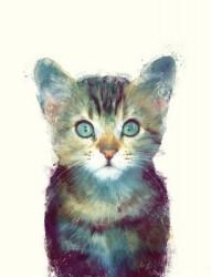 萌萌哒小动物纹身手稿