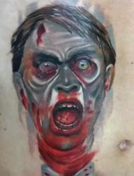 恐怖血腥重口味纹身