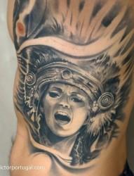 黑灰歐美紋身系列圖案