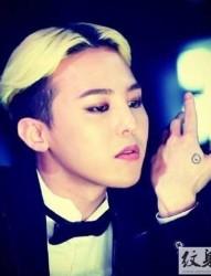 BIGBANG 权志龙帅气纹身