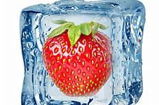 冰镇草莓图片