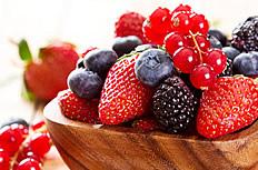草莓蓝莓水果图片