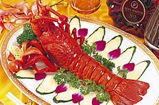 美味的大年夜龙虾图片