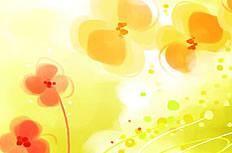 四叶草背景图片