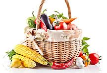 高清菜篮里的蔬菜图片蔬菜
