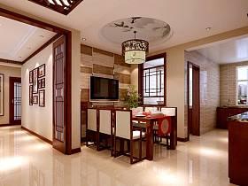 中式中式风格餐厅设计案例展示