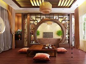 中式中式风格休闲区图片