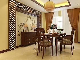 中式中式风格餐厅装修案例