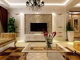 欧式古典欧式古典风格古典风格客厅案例展示