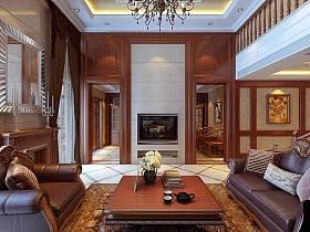 欧式客厅沙发茶几设计案例
