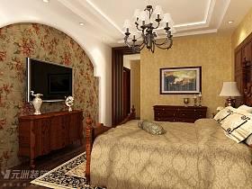 美式卧室设计图