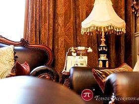 美式古典美式古典風格古典風格客廳設計方案
