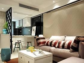 中式客厅沙发茶几图片