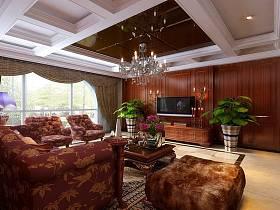 新古典古典新古典风格古典风格客厅设计图