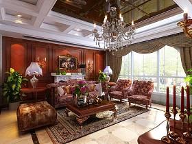 新古典古典新古典風格古典風格客廳設計案例展示