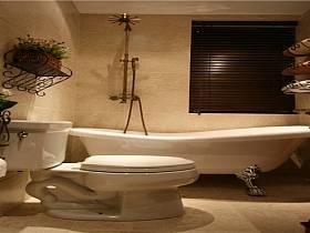 美式豪华卫生间设计方案