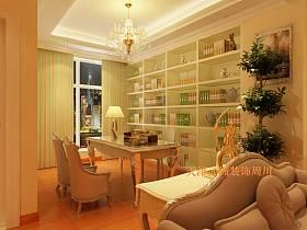 简欧简欧风格书房设计案例展示