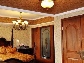 美式卧室吊顶灯具设计方案