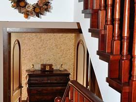 美式楼梯效果图