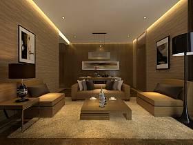 现代客厅别墅设计案例