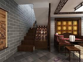 中式楼梯设计案例展示