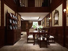 中式中式风格餐厅设计案例