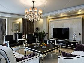新古典古典新古典风格古典风格客厅设计方案