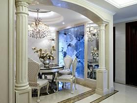 新古典古典新古典風格古典風格餐廳裝修效果展示