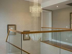 现代过道吊顶楼梯设计方案