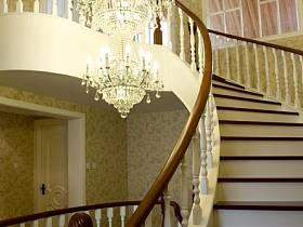 欧式楼梯效果图