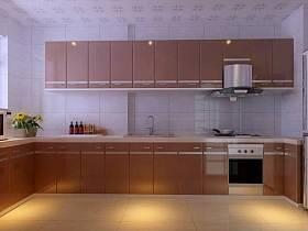 现代简约厨房设计图