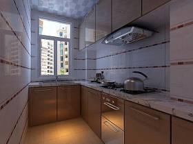现代简约厨房装修案例