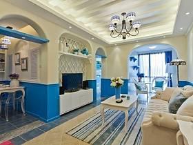 地中海地中海风格客厅设计案例展示