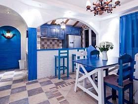 地中海地中海风格餐厅图片