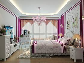 韩式韩式风格卧室设计案例