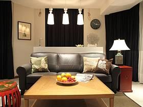 中式混搭客廳沙發客廳沙發設計案例展示