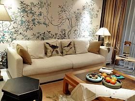 中式客廳沙發客廳沙發設計案例