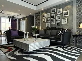 歐式歐式風格客廳背景墻沙發客廳沙發圖片
