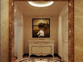 欧式欧式风格玄关玄关柜设计案例