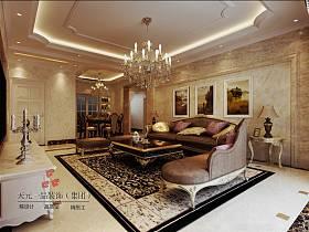 歐式歐式風格客廳背景墻沙發客廳沙發設計方案