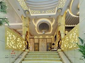 欧式欧式风格楼梯装修案例